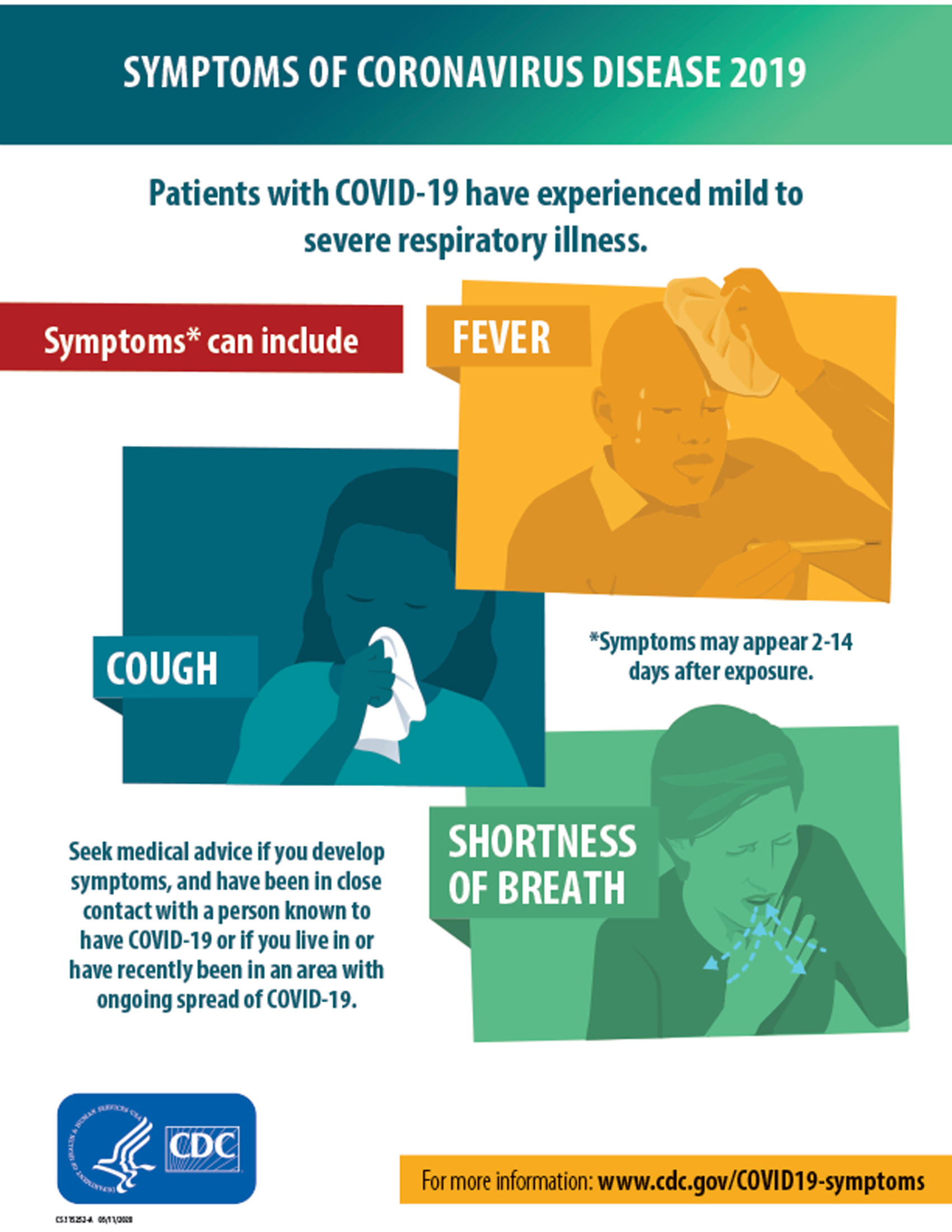 COVID-19 Update Symptoms of COVID-19